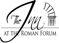 Logo The inn at the Roman Forum